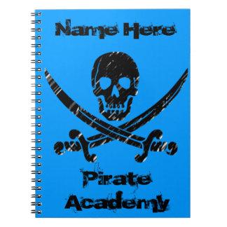 Academia del pirata libretas