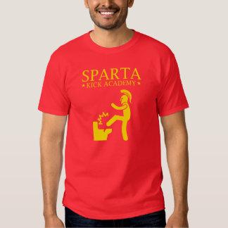Academia del retroceso de Sparta Poleras