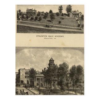 Academia del varón de Staunton Postal