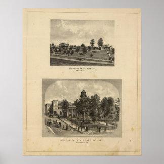 Academia del varón de Staunton Póster