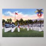 Academia militar del desfile de vestido de West Po Posters