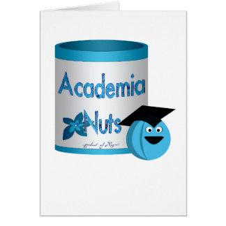 Academia Nuts Greeting Card