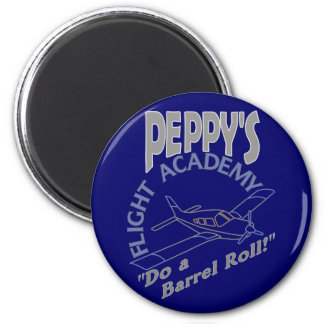 Academia Peppy del vuelo Imán Redondo 5 Cm