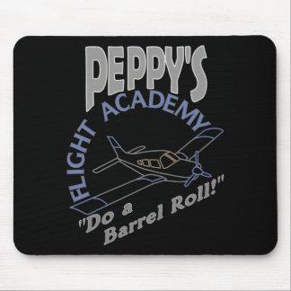 Academia Peppy del vuelo Tapetes De Ratón