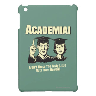 Academia: Tasty Nuts From Hawaii Case For The iPad Mini