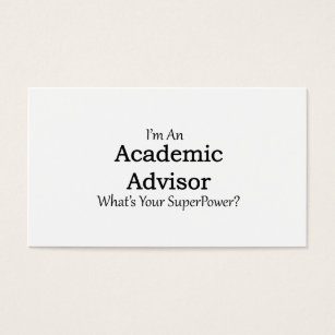 For academic advisor business cards templates zazzle academic advisor business card colourmoves