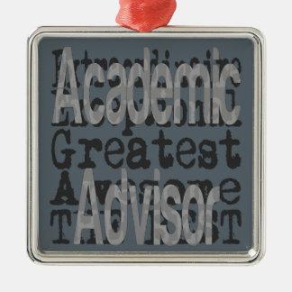 Academic Advisor Extraordinaire Metal Ornament