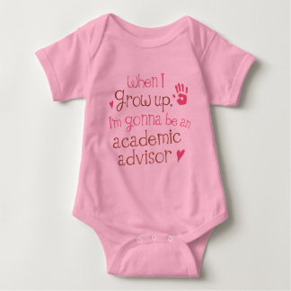 Academic Advisor (Future) Infant Baby T-Shirt