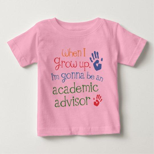 Academic Advisor (Future) Infant Baby T-Shirt