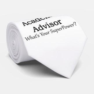 Academic Advisor Tie