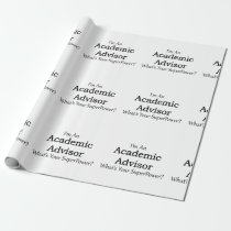 Academic Advisor Wrapping Paper
