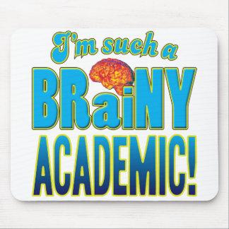 Academic Brainy Brain Mousemat