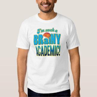 Academic Brainy Brain T Shirt