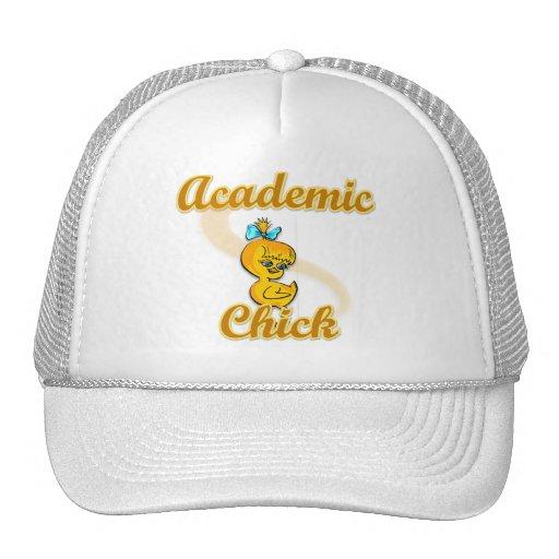 Academic Chick Trucker Hat