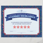 "Academic Excellence<br><div class=""desc"">Custom Certificates</div>"