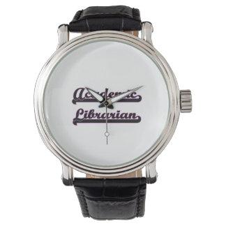 Academic Librarian Classic Job Design Wrist Watch