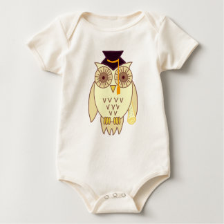 Academic Owl Baby Bodysuit