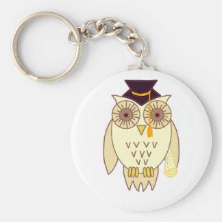 Academic Owl Keychain