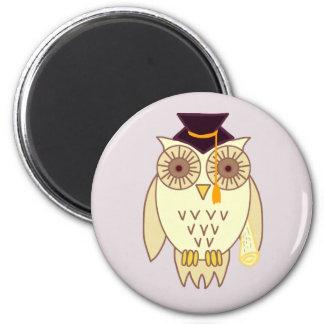 Academic Owl Magnet
