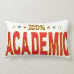 Academic Star Tag Throw Pillow