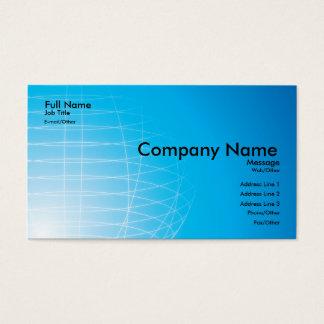 Académico, tarjeta de la investigación tarjetas de visita
