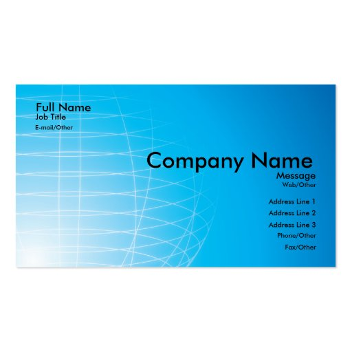 Academics, Research  Card Business Cards