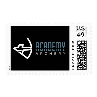 Academy Archery Black Logo Stamps