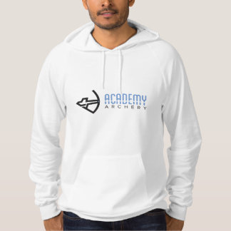 Academy Archery White Hoodie with Large Logo