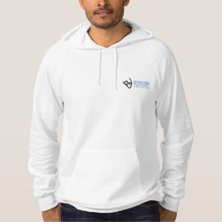 Academy Archery White Hoodie with Small Logo