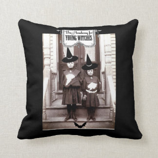 Academy For Young Witches Throw Pillow 16 x 16