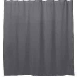 Academy Gray Color Shower Curtain