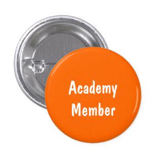 Academy Member 1 Inch Round Button