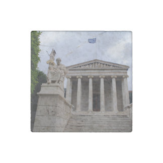 Academy of Athens Stone Magnet