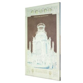 Academy of Fine Arts Canvas Print