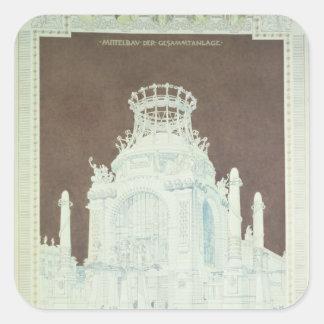 Academy of Fine Arts Square Sticker