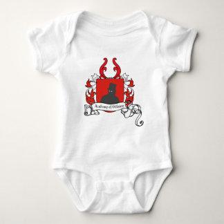 Academy of Villainy coat of arms Baby Bodysuit