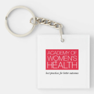 Academy of Women's Health keychain