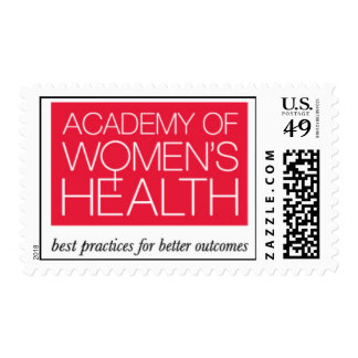 Academy of Women's Health stamp