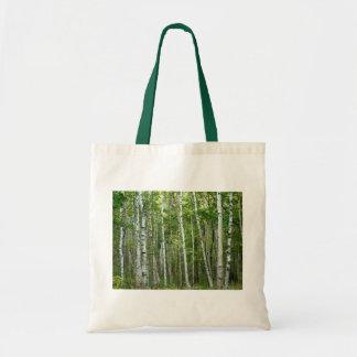 Acadia Birches Canvas Bags
