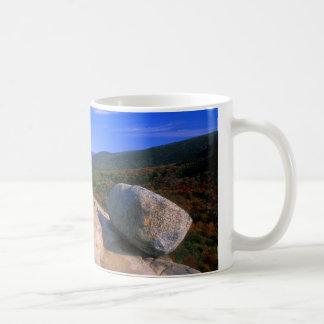 Acadia Bubble Rock Classic White Coffee Mug