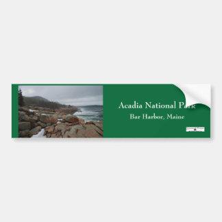 Acadia Bumpersticker - 3 Etiqueta De Parachoque