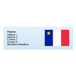 Acadia, Canada Mini Business Card