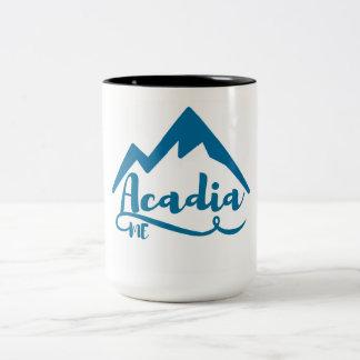 Acadia Maine Two-Tone Coffee Mug