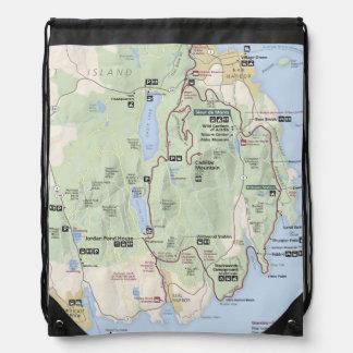 Acadia map backpack