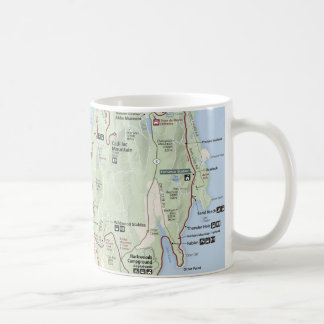 Acadia map mug