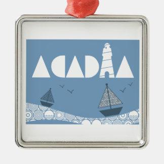 Acadia Metal Ornament