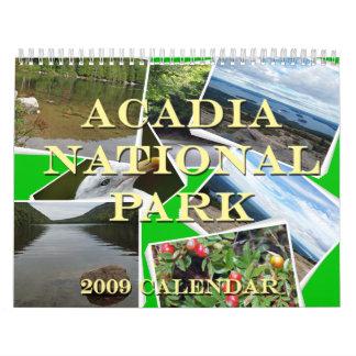 Acadia National Park 2009 Calendar