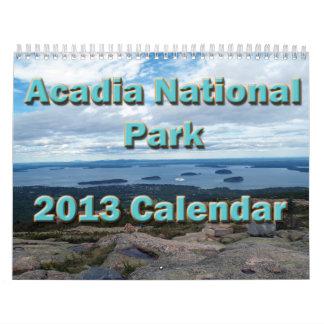 Acadia National Park 2013 Calendar