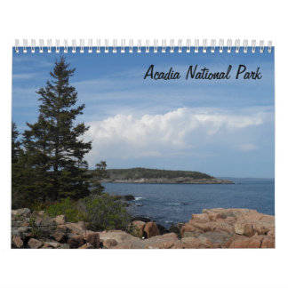 Acadia National Park 2017 Calendar