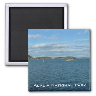 Acadia National Park 2 Inch Square Magnet